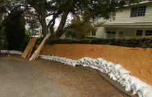 California prepares for mudslides from drenching rains