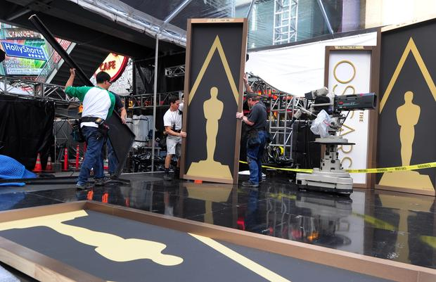 Oscars preparations and pre-parties