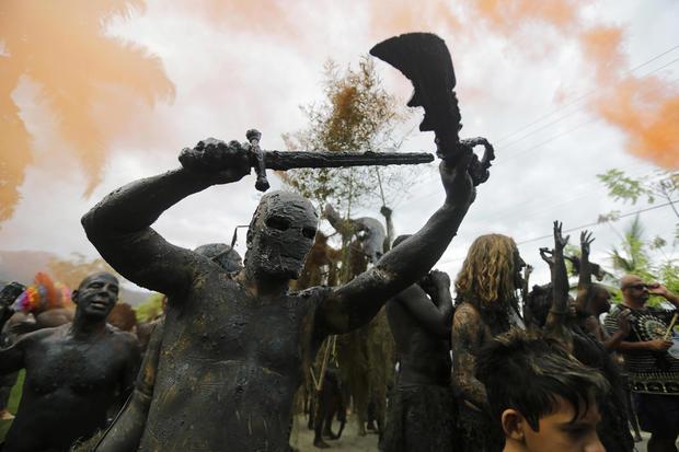 Brazil's Carnival celebrations 2014
