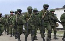 Russian soldiers in control of Crimea
