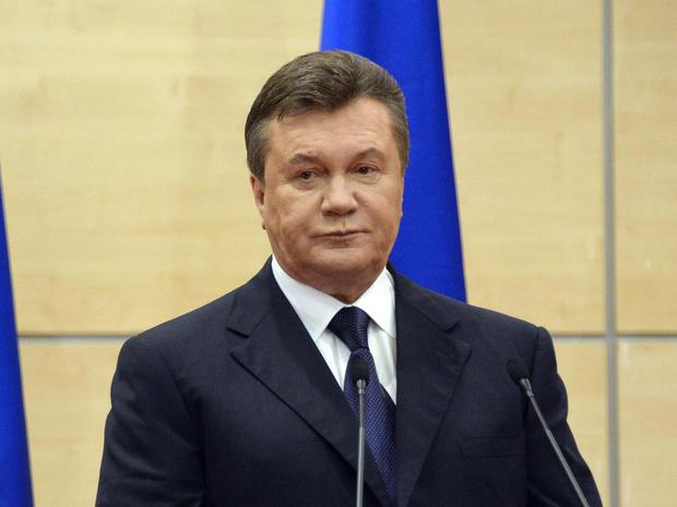 Viktor Yanukovych speaks in Rostov-on-Don, Russia