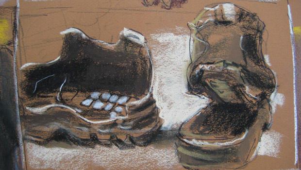 鞋子炸弹绘图仪鞋,closeup.jpg