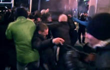 Demonstrations turn ugly in eastern Ukrainian city