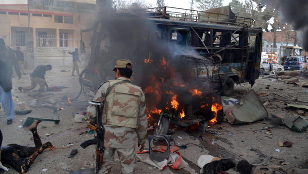 Taliban Pakistan Bombing Pakistan Bombs Kill at Least