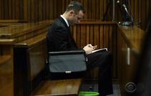Oscar Pistorius trial: Crime scene photos show bloodied athlete