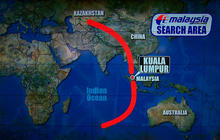 Morell: Malaysia Airlines Flight 370 not likely to have taken northern route