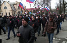 Pro-Russian sentiment in eastern Ukraine bolstered by Crimea referendum