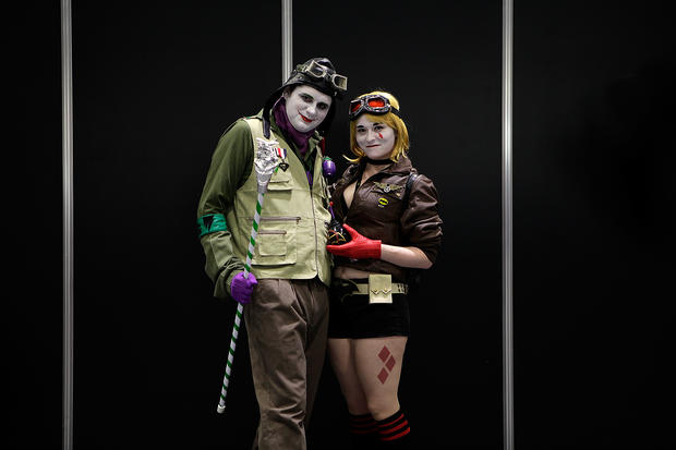 Heroes and villains at London Comic Con