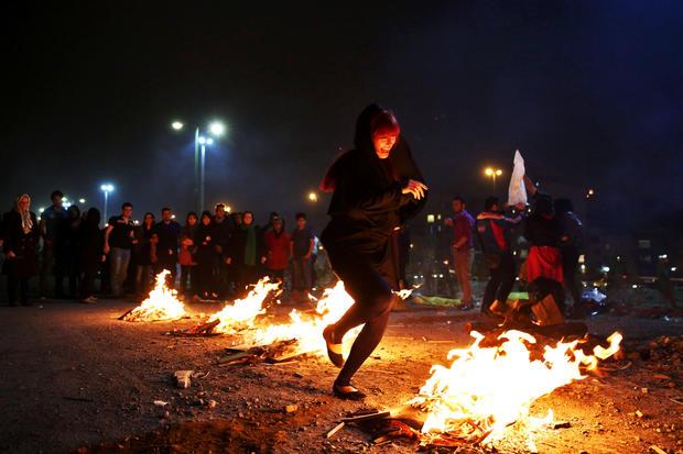 Iran's fiery festival