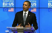 "Obama ""mindful"" of Russian sanctions' economic impact on Europe"