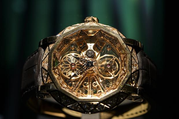 Luxury watches at Baselworld