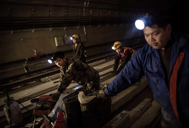 Beijing expands massive subway system