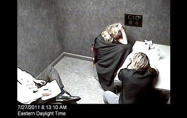 What happened inside Caryn Kelley's bedroom?