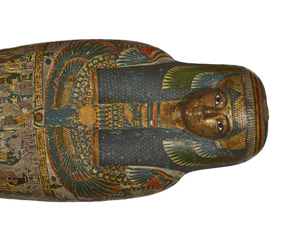 Inside view of ancient mummies