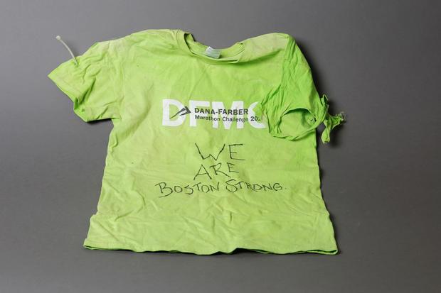 Relics of the Boston marathon