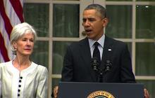Obama: Kathleen Sebelius deserves credit for Obamacare success