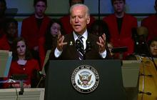 "Biden tells Boston: ""You have become the face of America's resolve"""