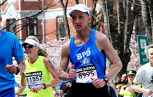 Boston Marathon runner trades running the race for protecting it