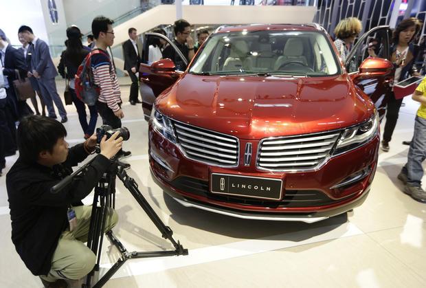 mclaren beijing auto show  pictures cbs news