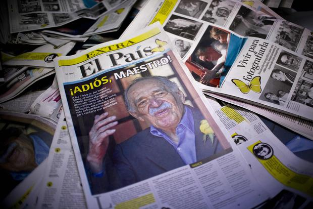 Fans say goodbye to Garcia Marquez
