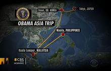 President Obama to visit four Asian nations next week