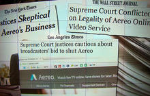 Supreme Court fight pits networks against start-up