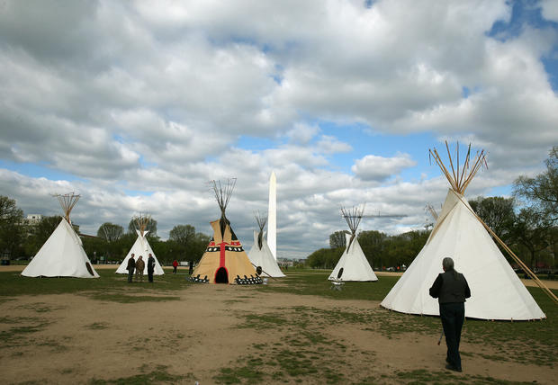 Cowboy and Indian Alliance stands against pipeline