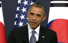 Obama pushes for diplomatic breakthrough during South Korea visit