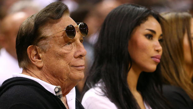 Los Angeles Clippers owner Donald Sterling watches the San Antonio Spurs play against the Memphis Grizzlies during Game One of the Western Conference Finals of the 2013 NBA Playoffs at AT&T Center May 19, 2013, in San Antonio.