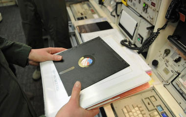 Floppy disks and nuclear missiles?