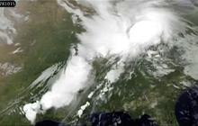 NASA animation shows tornado outbreak from space