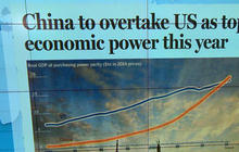 Headlines: China to overtake U.S. as world's largest economy in 2014