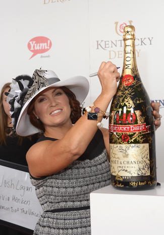 Stars at Kentucky Derby 2014