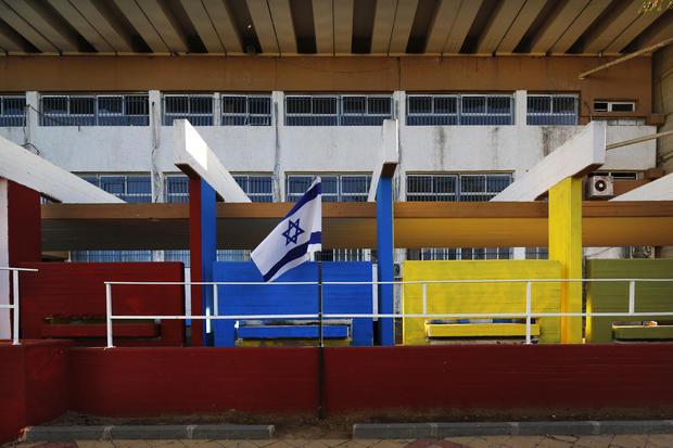 Israel's graffiti bomb shelters