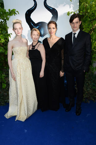"""Maleficent"" stars gather for charity event"