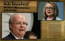 Democrats push back after Rove suggests Clinton may have brain damage