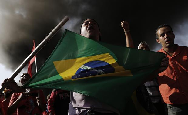 Protests erupt in Brazil
