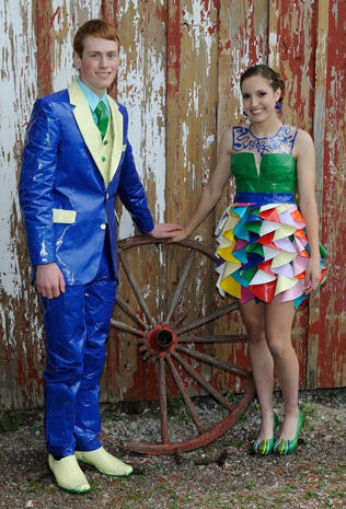 Duct tape fashions
