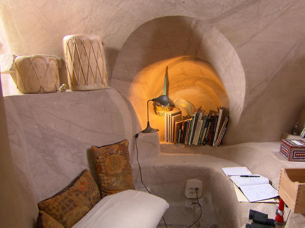 Man Cave New Mexico : Cave home ra paulette s caves pictures cbs news