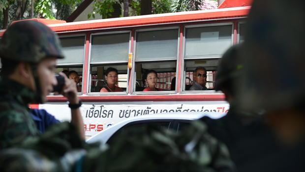 Thai army declares martial law