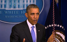 """I will not tolerate it"": Obama addresses VA scandal"