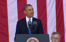 Obama addresses Veterans Administration scandal in Memorial Day speech