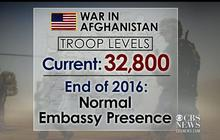 Pres. Obama outlines end to war in Afghanistan