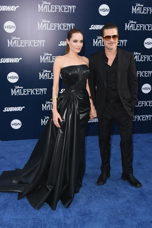 """Maleficent"" arrives in Hollywood"