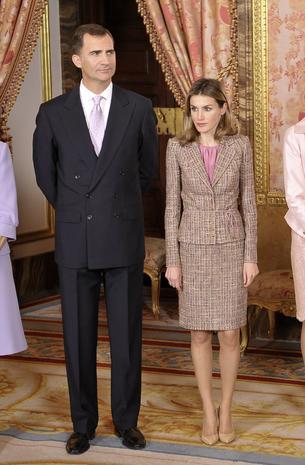 Spain's Queen Letizia