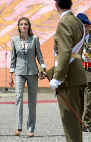 Spain's Queen Letizia