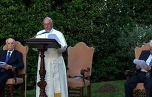 Pope Francis hosts Israeli, Palestinian leaders at Vatican