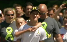 Teen carries brother 40 miles for cerebral palsy awareness