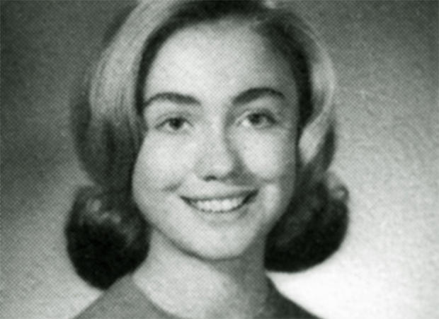 Yearbook Hillary Clinton A Life In Pictures Pictures