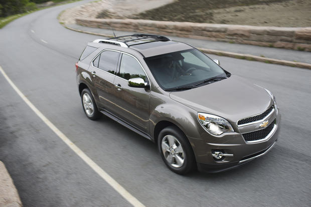 The top 10 most stolen SUVs in America
